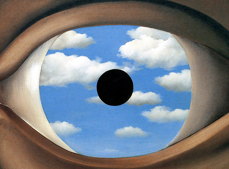 Narziss echo for Rene magritte le faux miroir
